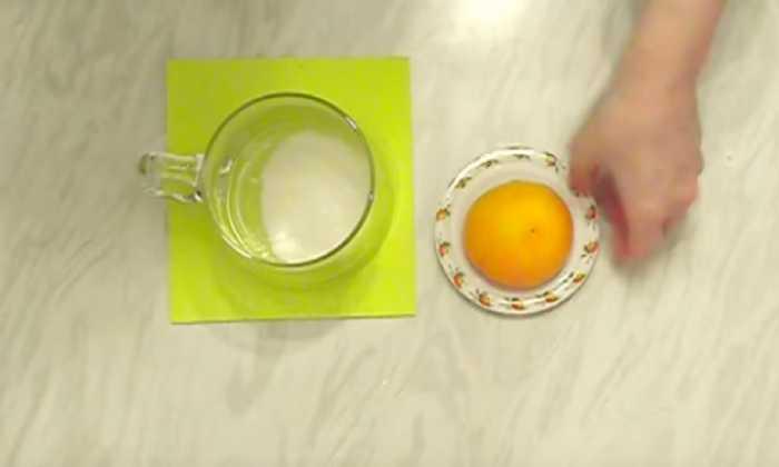 белок и лимон для глазури