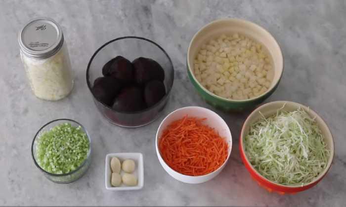 подготавливаем овощи