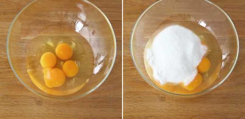 яйца в миске