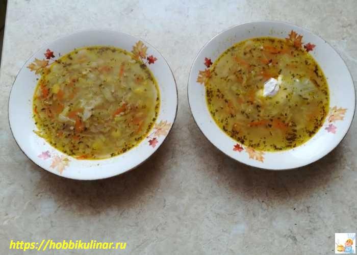 готовый суп