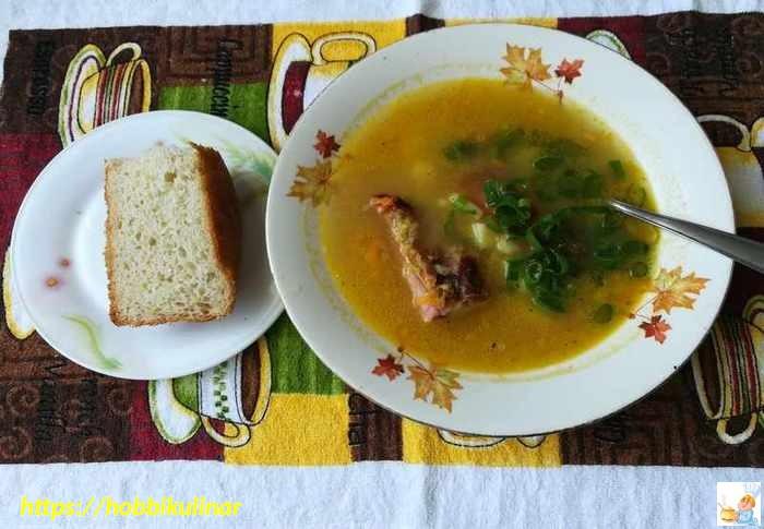 суп в кастрюлю