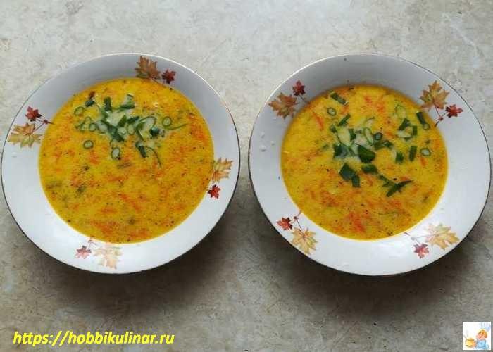 лук в супе