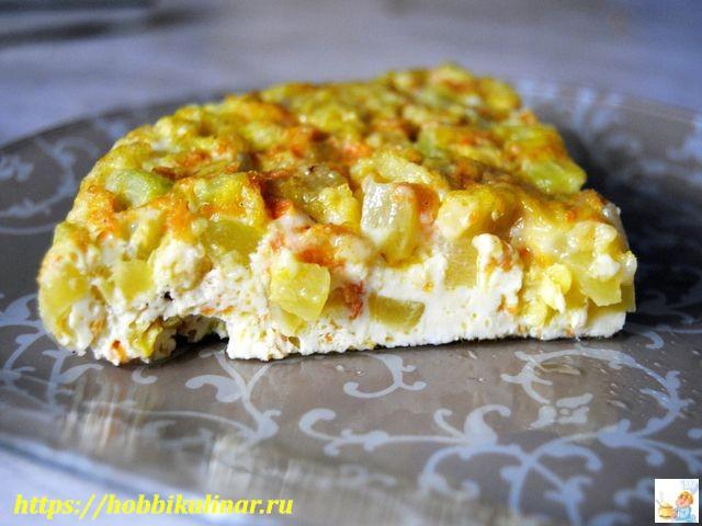готовые кабачки в яйце запечённые