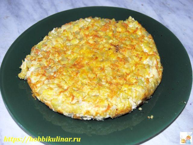 кабачки с яйцом в духовке