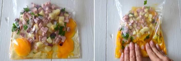 ингредиенты в пакете