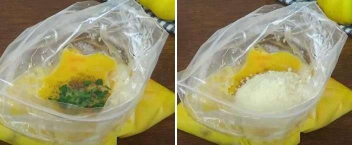 добавленные ингредиенты в пакете
