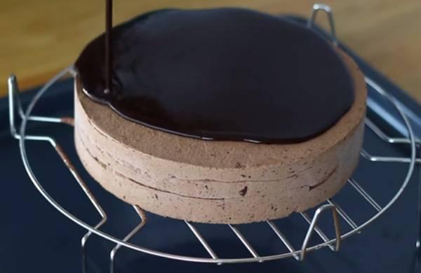 торт на решётке