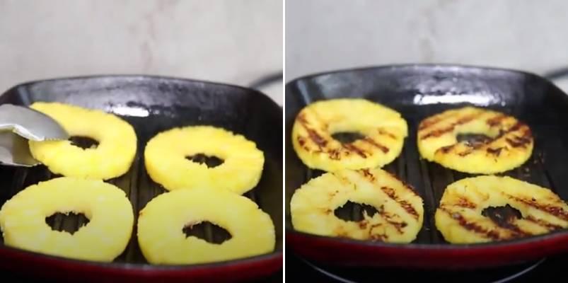 жарим ананас