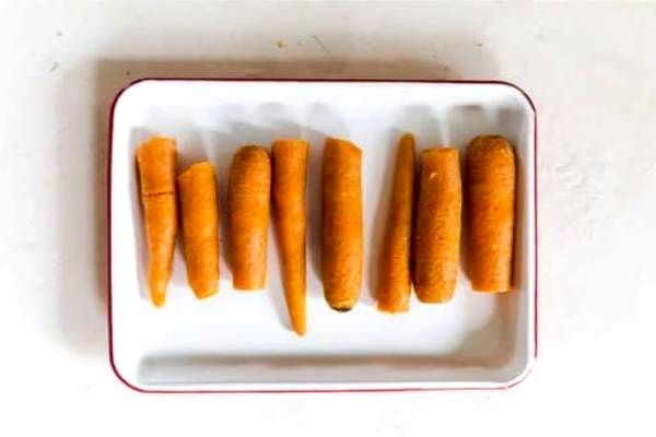 отваренная морковь