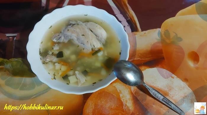 диетический суп с овощами