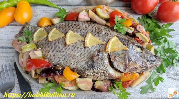 Рыба в духовке с овощами — 5 простых и вкусных рецептов